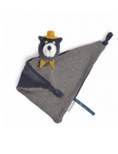 Doudou chat Alphonse Les Moustaches - Moulin Roty