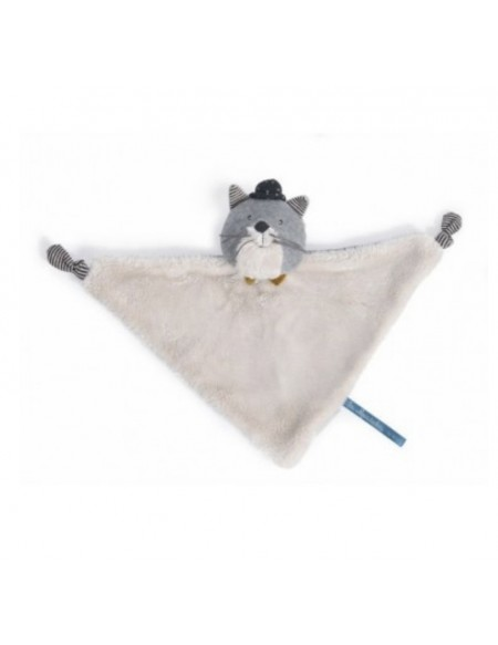 Doudou chat Fernand Les Moustaches - Moulin Roty