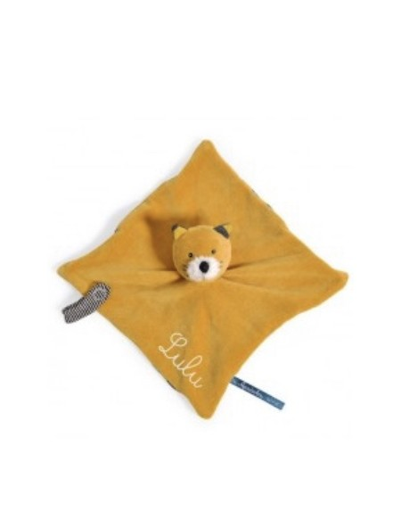 Doudou chat Lulu Les Moustaches - Moulin Roty