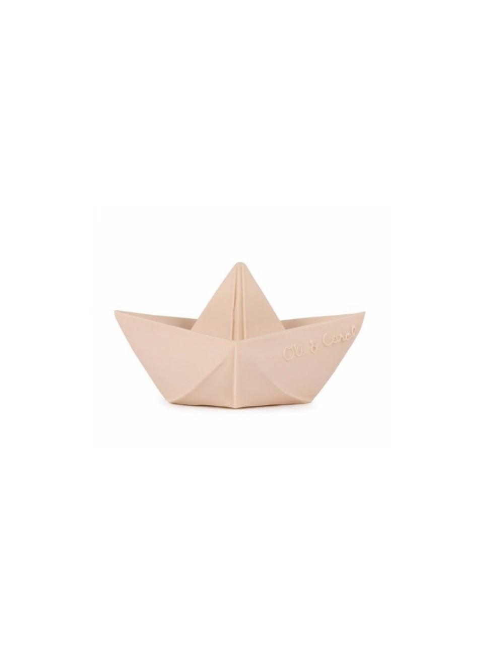 Jouet De Bain Bateau Origami Latex D Hevea Nude Oli Carol