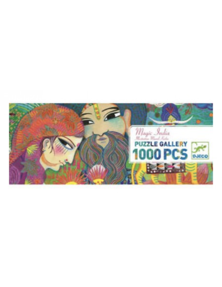 Puzzle gallery Magic India 1000 pièces - Djeco