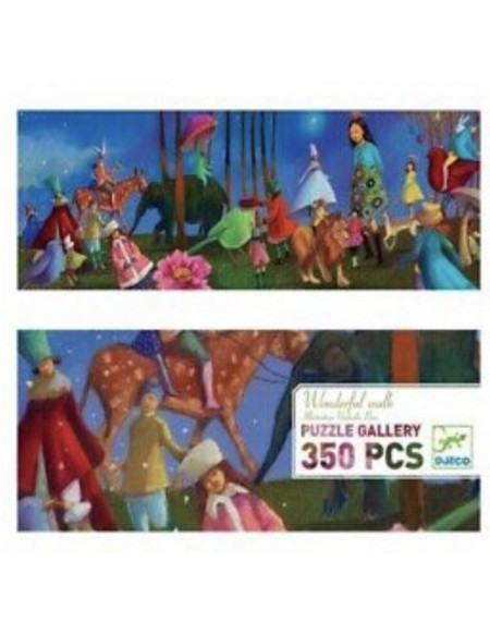 PUZZLE GALLERY wonderful walk - 350 PCS