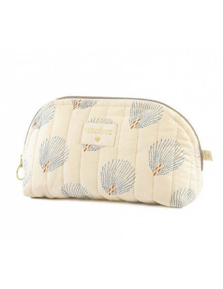 Trousse de toilette Holiday blue gatsby cream SMALL