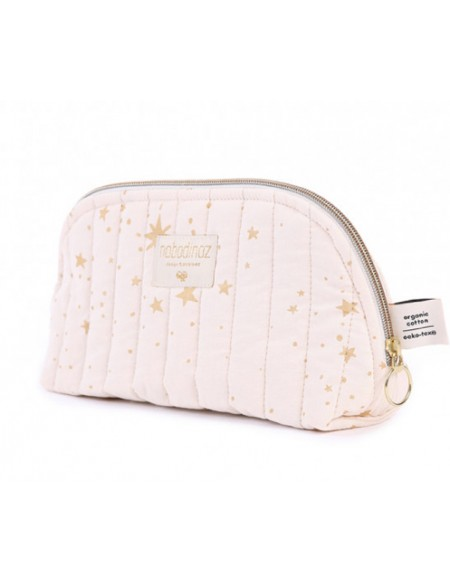 Trousse de toilette Holiday gold stella dream pink LARGE