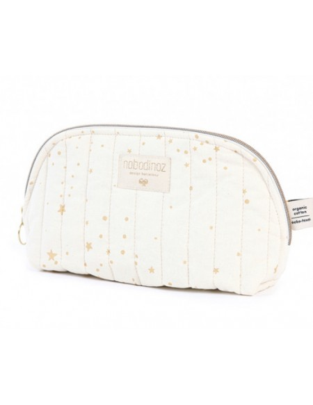 Trousse de toilette Holiday gold stella natural LARGE