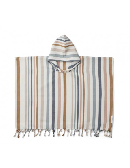 Poncho Roomie Multi 4-6 ans