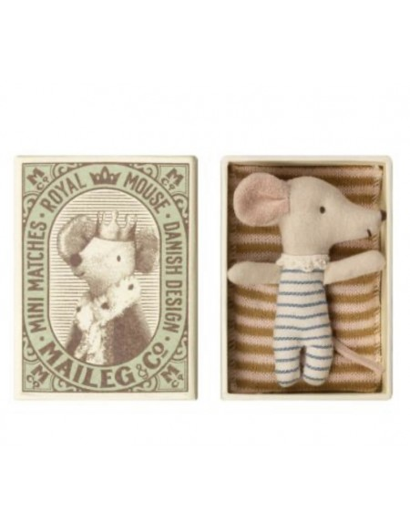 Maileg Baby Mouse Sleepy/Wakey in Box