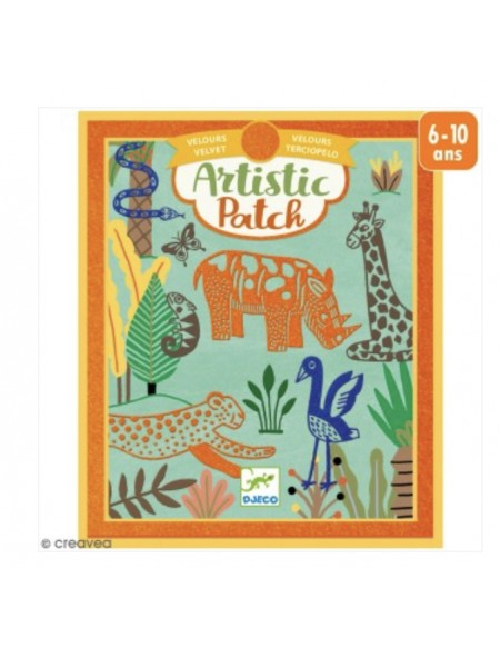 Artistic Patch animaux sauvages