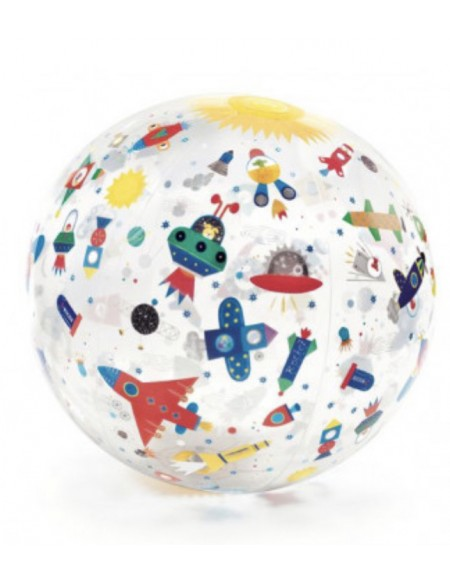 Ballon gonflable Space ball - Djeco