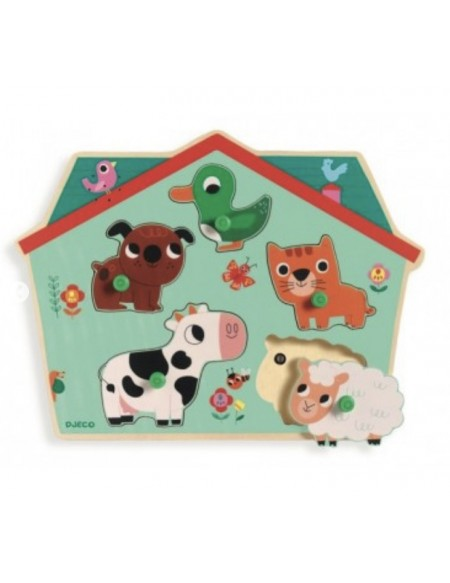 Puzzle sonore ouaf woof - Djeco