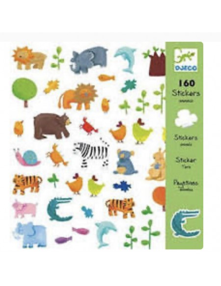 ANIMAUX stickers