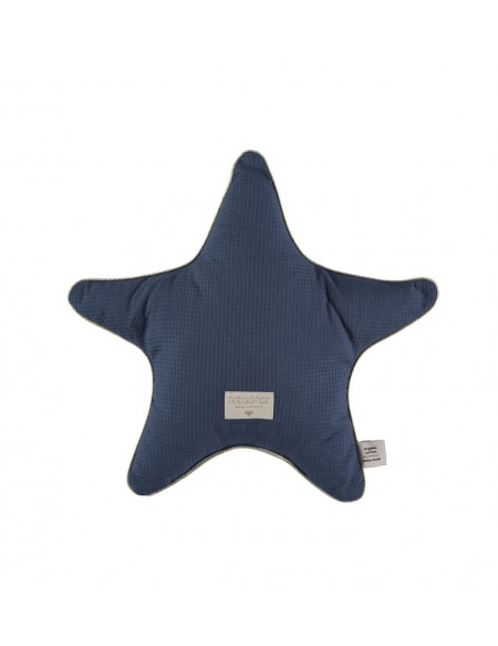 Coussin ARISTOTE STAR CUSHION 40X40 blue