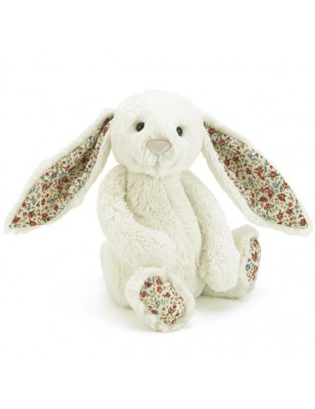 Blossom cream bunny small lapin blanc liberty