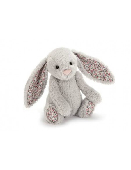 Blossom silver bunny small lapin gris liberty