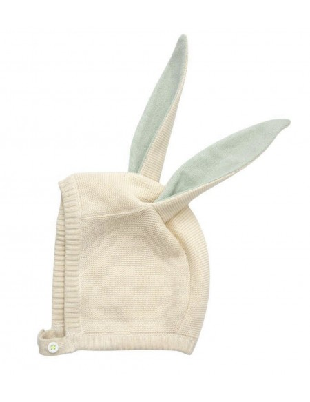 Bonnet lapin mint