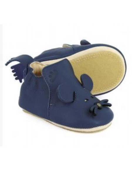 CHAUSSONS EASY PEASY BLUBLU MOUSE Bleu