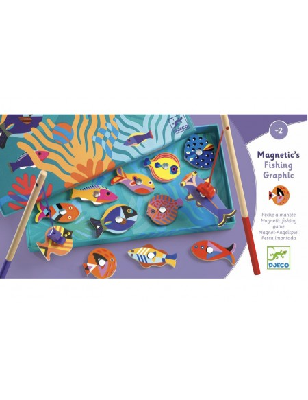 Pêche magnétique Fishing Graphic