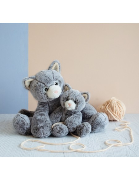 Peluche Sweety Mousse Chat 40 cm