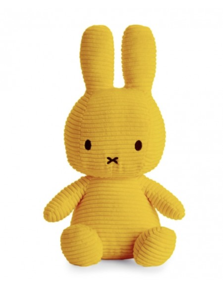 Miffy velours moutarde mm