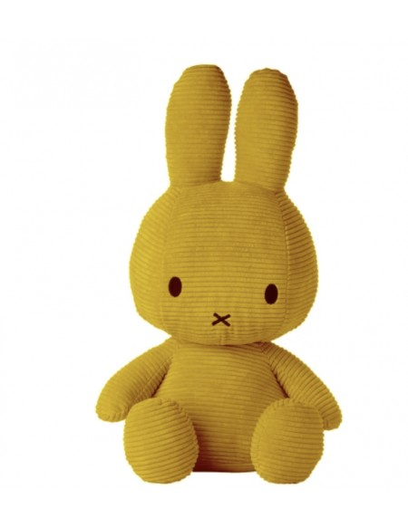 Miffy velour côtelé moutarde XL