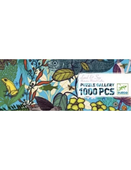 Puzzle land and sea 1000pieces