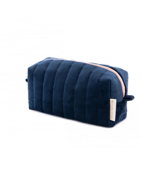 Savanna velvet Vanity Case night blue