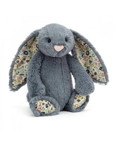 Peluche Lapin Bashful Dusky Blue Small
