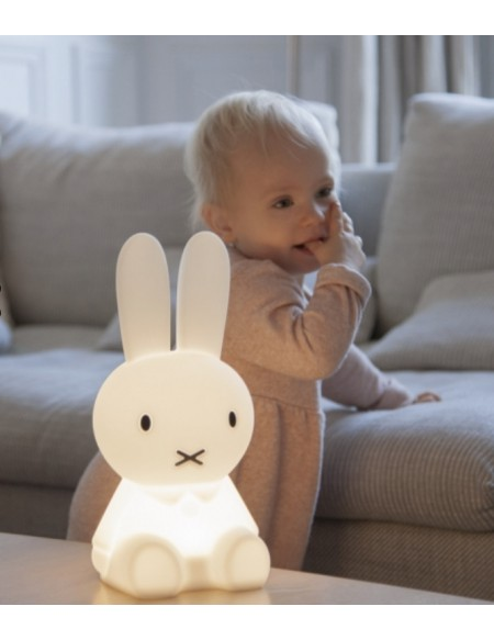 Lampe Miffy à poser en silicone