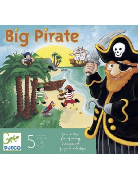 Big pirate Jeu de tactique - Djeco