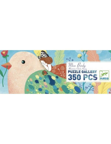 Puzzle gallery Miss Birdy 350 pièces - Djec