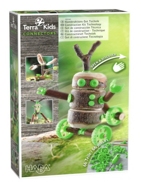 Connectors Terra kids kit technique