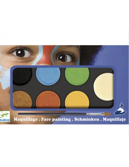 Maquillage couleur nature