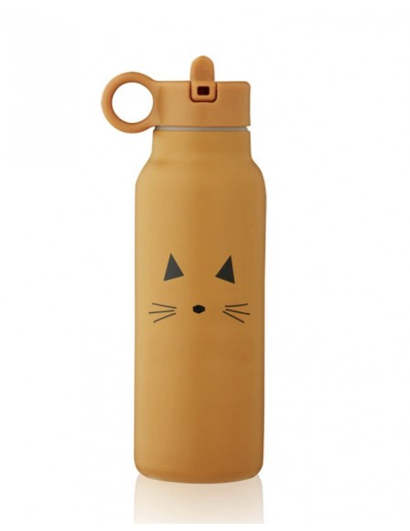 Gourde Falk 350ml Chat moutarde