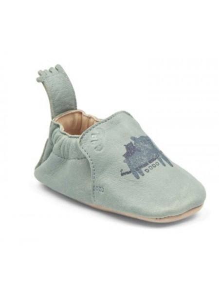Chaussons blumoo bleu ours
