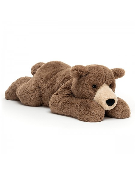 Ours Woody bear lying
