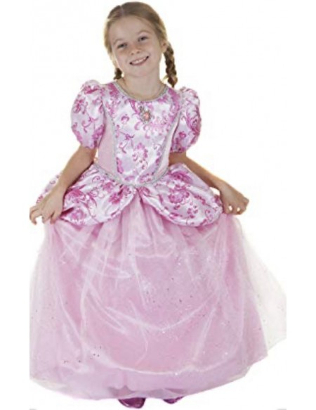 Robe de princesse Royal pretty pink 7/8 ans