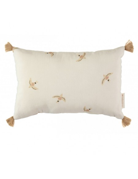 Coussin Sublim 20x35 nude haiku birds/ natural