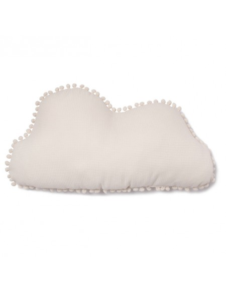 Coussin nuage Marshmallow 30x58 natural