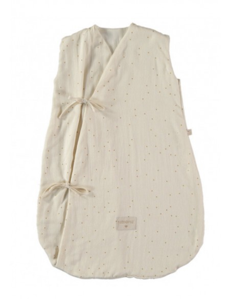 Gigoteuse Dreamy summer sleeping bag 0-6 M honey sweet dots/ natural  En stock