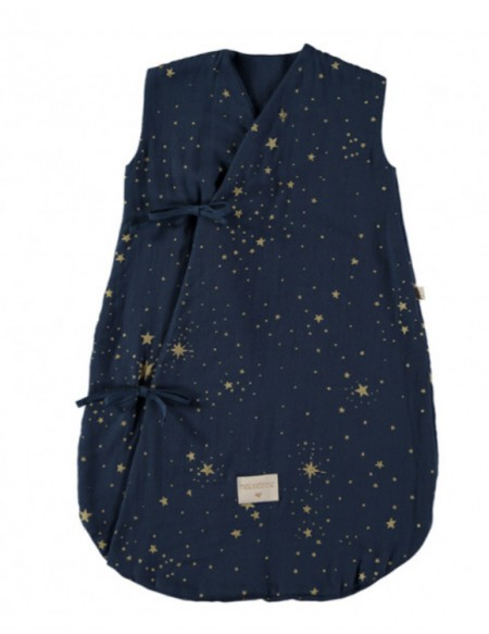Dreamy summer sleeping bag 0-6 M gold stella/ night blue
