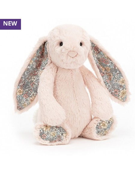 Peluche Jellycat lapin – Blossom blush bunny